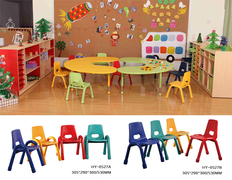 color plastic kids chair