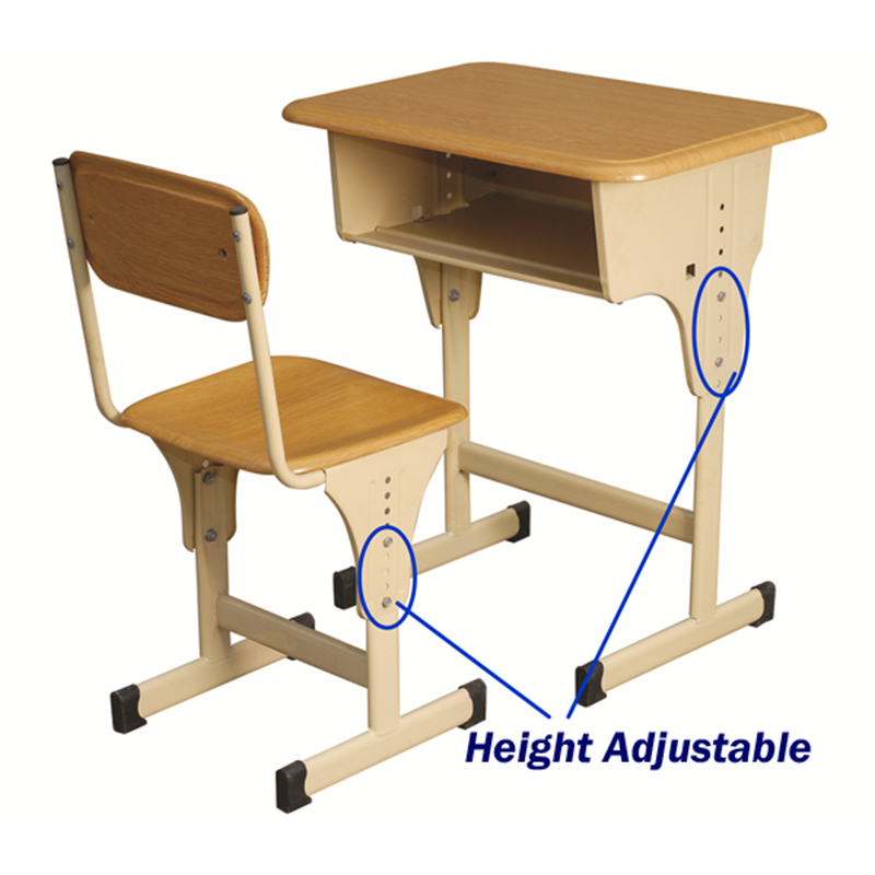 adjustable school desk