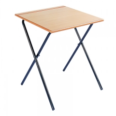 School furniture removable folding exam desk