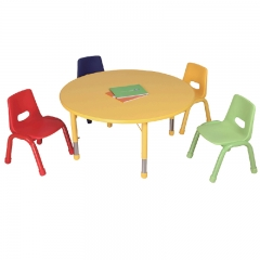 kindergarten table and chairs