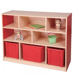 Nursery school furniture kids toy storage cabinets