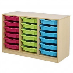 Kindergarten classroom cabinet for children