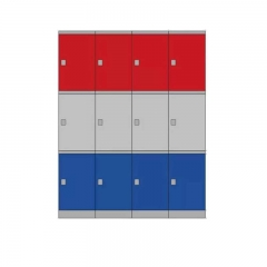 Richlees ABS Plastic storage locker for school, gym, swimming pool, home
