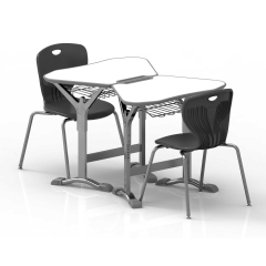 School table and chair for collaborative learning