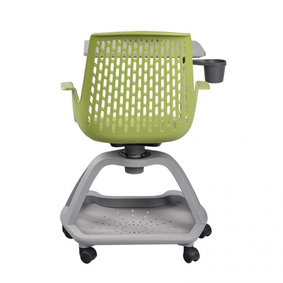 Swivel University Node Chairs school chair with tablet