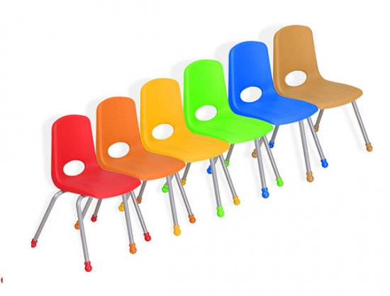 Plastic School Stack Chairs for children furniture