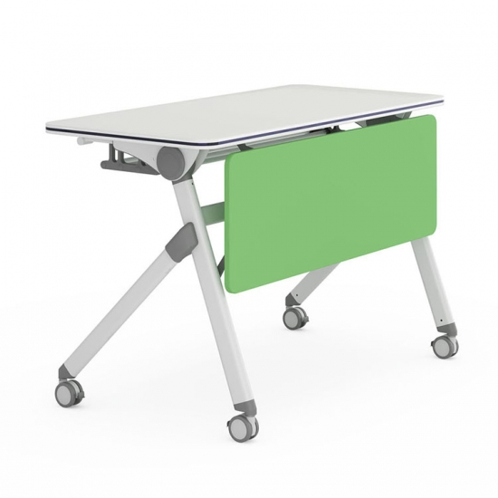 Training Room Used Modern Folding Training Table with casters