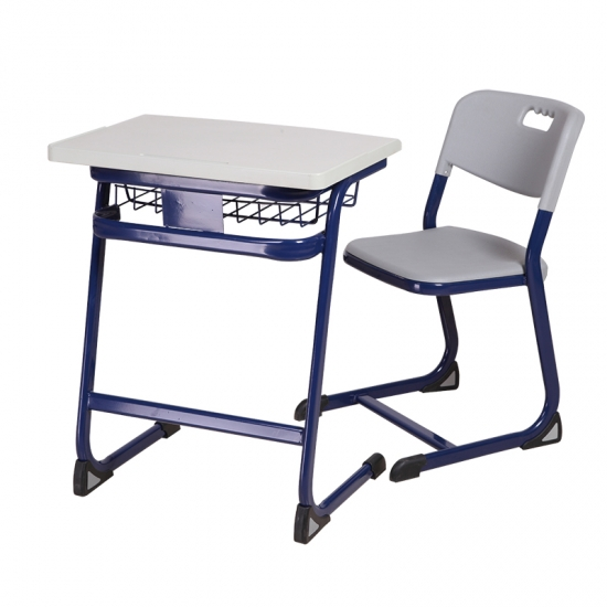 Cheap MDF student desk and chair for classroom