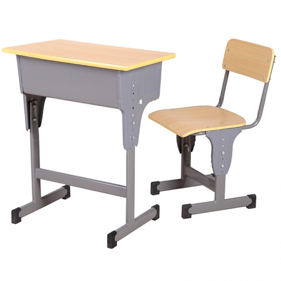 Cheap molded board student desk for middle school