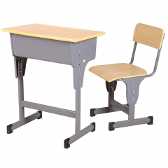 Molded board student desk