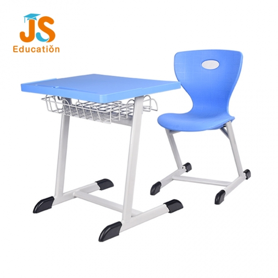 JS High quality Plastic student desk chair