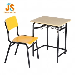plywood student desk and chair