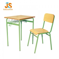 Single plywood Student Desk and Chair with particle board