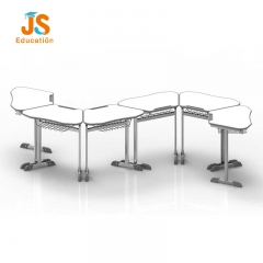 JS Modular classroom learning desk with manufacturers