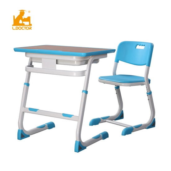 High-end adjustable school furniture table with Bifma