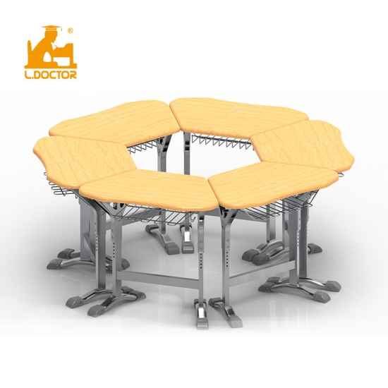 Collaborative learning desk and chair for High Schools