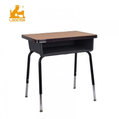 Adjustable classroom desk and chair