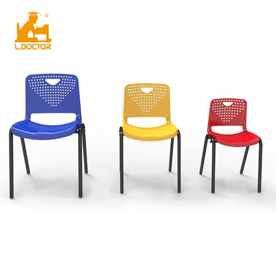 Modern Cheap plastic school chair with 3 size Supplier,China ...