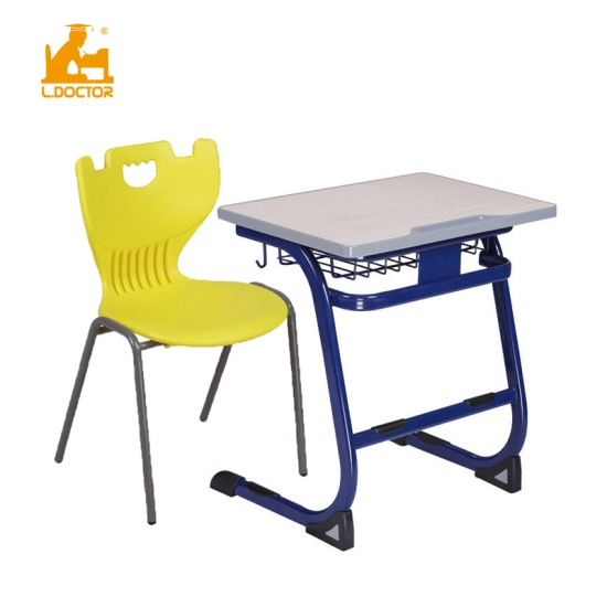 Adult school furniture student desk chair china supply