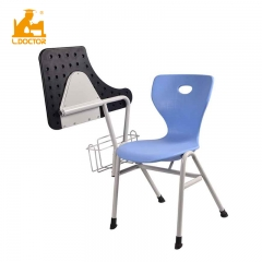 Plastic school study chair with tablet