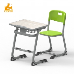 Modern MDF top furniture school desk with bifma