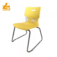 Modern school furniture with plastic school chair