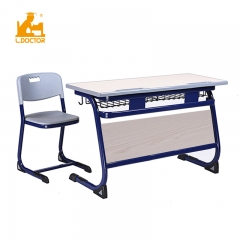MDF metal school furniture set ergonomic tables and chairs