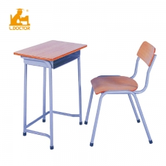 Cheap simple used school desk and chair for sales