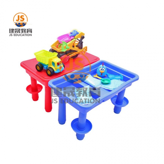 Children furniture set PP kids table children play water desk and chair