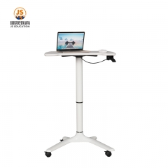 New small classroom mobile lifting lecture table
