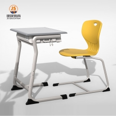 School New With Cup Trough Adjustable Desk Chair student desk chair set