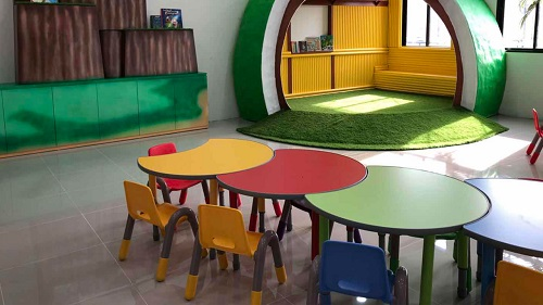 Kindergarten furniture project in Thailand