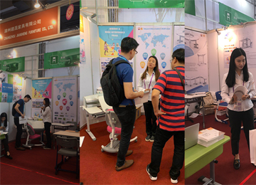 Zhangzhou Jiansheng Furniture took part in the 125th Canton Fair
