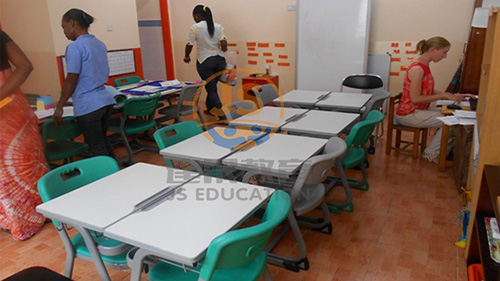 School furniture in Ghana