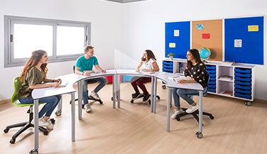 ESCO  Collaborative classroom learning table and chair